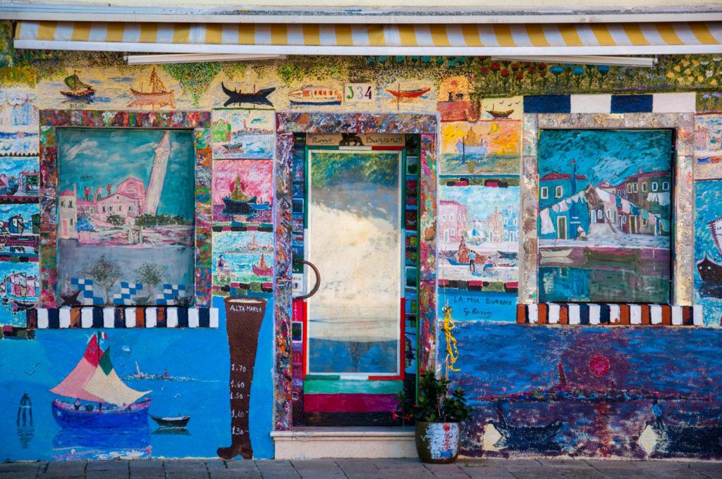 Najbardziej kolorowy dom na Burano