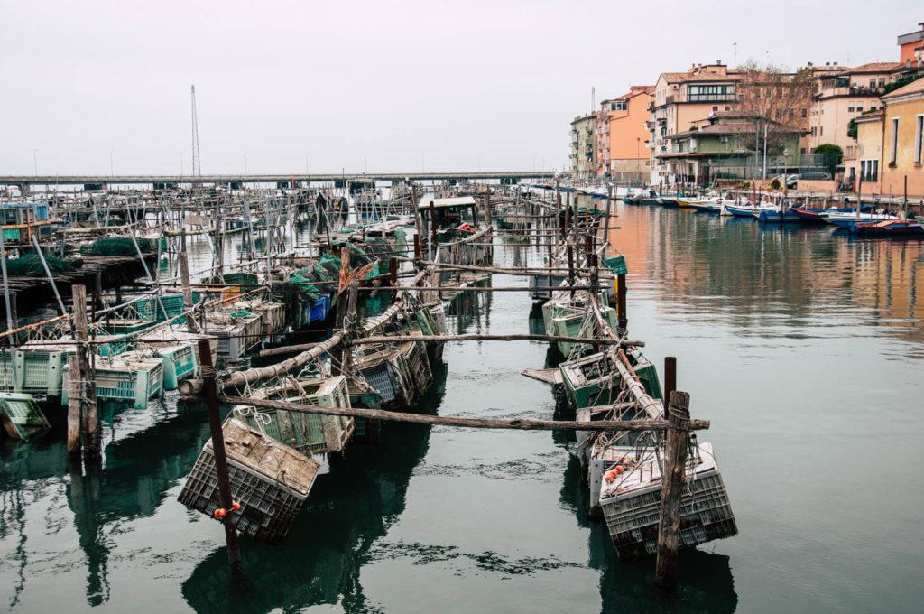 Chioggia jest głównym portem rybackim laguny