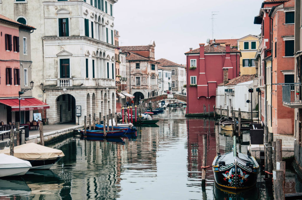 Brak tłumu turystów to miła odmiana po wizycie w Wenecji