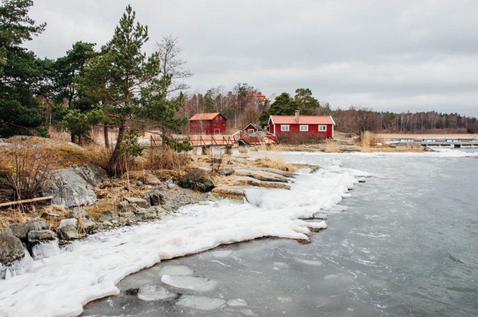 Zimowa Szwecja