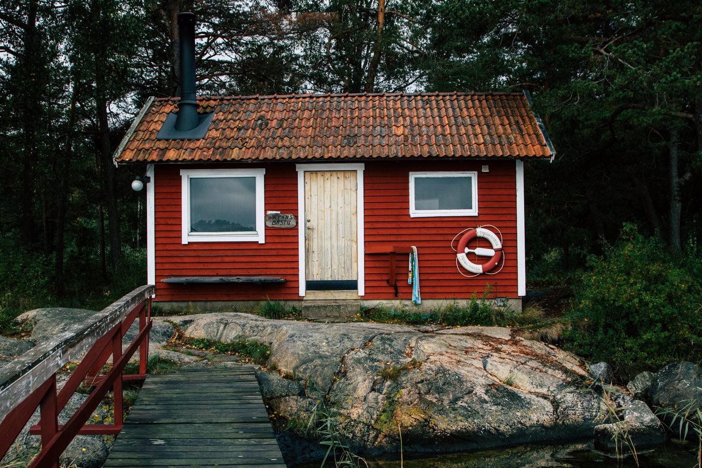 Wisienka na torcie, czyli relaks w saunie z widokiem na zatokę